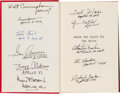Autographs:Celebrities, Jules Verne: From the Earth to the Moon Book Signed byEleven Apollo Astronauts. ...