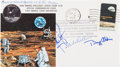 Explorers:Space Exploration, Apollo 11 Flown Crew-Signed Commemorative Cover, C-54, Directly from the Personal Collection of Mission Command Module Pilot M...