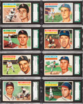 Baseball Cards:Lots, 1956 Topps Baseball SGC 96 Mint 9 Collection (8) - All Pop One,None Higher! ...