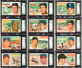 Baseball Cards:Lots, 1956 Topps Baseball SGC 92 NM/MT+ 8.5 Collection (28). ...