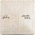 Baseball Collectibles:Others, 2010 Alex Rodriguez Game Used Third Base from 600th Home Run....