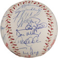 Autographs:Baseballs, 2004 American League All-Star Team Signed Baseball....