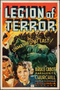 "Movie Posters:Action, Legion of Terror (Columbia, 1936). One Sheet (27"" X 41""). Action.. ..."