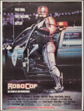 "Movie Posters:Action, RoboCop (Orion, 1987). Subway Poster (45"" X 60) Advance. Action....."
