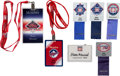 Baseball Collectibles:Others, 1990's-2000's Stan Musial Hall of Fame Induction Badges &Season Passes....