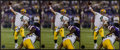 Football Collectibles:Photos, Brett Favre Signed Photographs Lot of 3 - Record Breaking 421 TD Image. ...