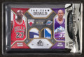 "Basketball Cards:Singles (1980-Now), 2009/10 NBA SP Game Used ""Tag Team Duals"" Jordan/Malone JerseySwatch #7/10. ..."