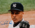 Autographs:Photos, Circa 1996 Derek Jeter Signed Rookie-Era Photograph....