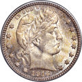 Barber Quarters, 1916-D 25C MS67+ NGC. CAC. Lawrence-104....