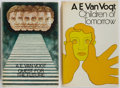 Books:Science Fiction & Fantasy, A. E. Van Vogt. SIGNED. Children of Tomorrow [And] Quest for the Future. London: Sidgwick & Jackson, [1971,1972]. Fi... (Total: 2 Items)
