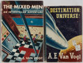 Books:Science Fiction & Fantasy, A. E. Van Vogt. SIGNED. Destination Universe! [And] The Mixed Men. London and New York: Eyre & Spott... (Total: 2 Items)
