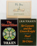 Books:Science Fiction & Fantasy, J. R. R. Tolkien. Three First English Editions. London: various publishers, [1975-1982]. Titles include: Sir Gawain and th... (Total: 3 Items)