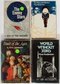 Books:Science Fiction & Fantasy, Poul Anderson. Four First English or First Editions. Philadelphia or London: various, 1952-1974. Titles include: Vault of ... (Total: 4 Items)