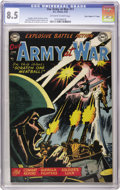 "Golden Age (1938-1955):War, Our Army at War #11 Davis Crippen (""D"" Copy) pedigree (DC, 1953)CGC VF+ 8.5 Off-white to white pages. Putting together a fu..."