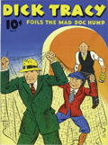 Memorabilia:Comic-Related, Large Feature Comic #11 Dick Tracy Foils the Mad Doc Hump - Mile High pedigree (Dell, 1940) Condition: NM. Doc Hump may not ...