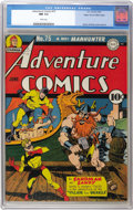 Golden Age (1938-1955):Superhero, Adventure Comics #75 Mile High pedigree (DC, 1942) CGC NM 9.4 White pages. This one's always been a favorite of ours thanks ...