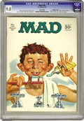 Magazines:Mad, Mad #109 Gaines File pedigree (EC, 1967) CGC NM/MT 9.8 White pages.Norman Mingo cover. Overstreet 2006 NM- 9.2 value = $38....