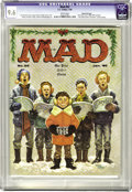 Magazines:Mad, Mad #52 Gaines File pedigree (EC, 1960) CGC NM+ 9.6 White pages. Kelly Freas drew this issue's Christmas cover as well as a ...