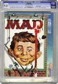 Magazines:Mad, Mad #50 Gaines File pedigree (EC, 1959) CGC NM/MT 9.8 Off-white to white pages. Kelly Freas, painter of many science fiction...