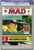 Magazines:Mad, Worst From Mad #10 Gaines File pedigree (EC, 1967) CGC NM/MT 9.8White pages. A fantastic, pedigreed copy of this square bou...