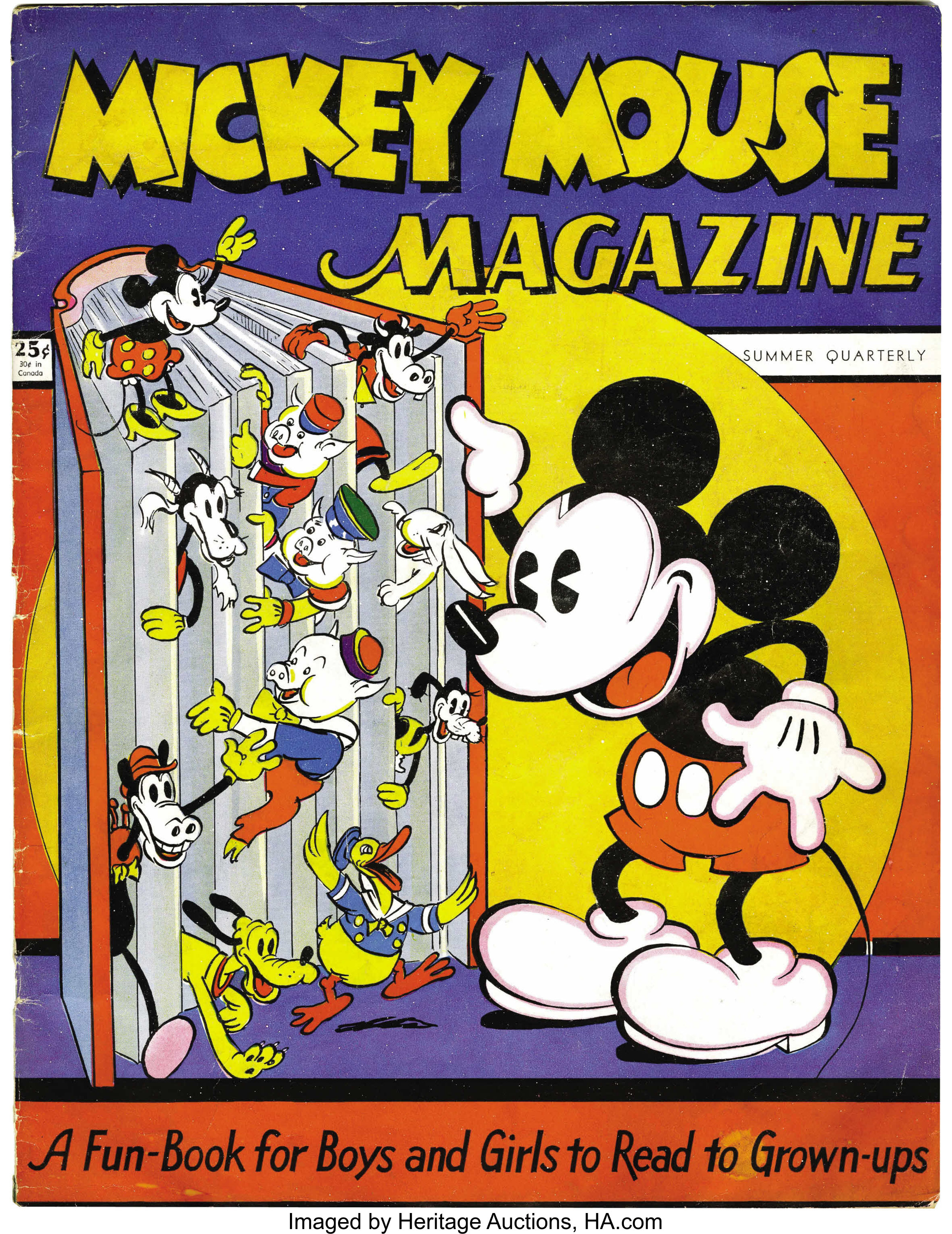 Mickey Mouse Magazine 1 K K Publications Inc 1935 Lot 43273 Heritage Auctions