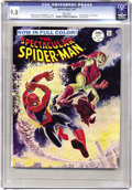 Magazines:Superhero, Spectacular Spider-Man #2 (Marvel, 1968) CGC NM/MT 9.8 White pages.Here's a copy of the short lived magazine-sized, full co...