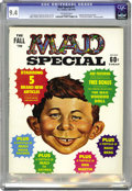 Magazines:Mad, Mad Special #1 (EC, 1970) CGC NM 9.4 Off-white pages. Includes Mad Voodoo Doll bonus. Kelly Freas, Al Jaffee, Antonio Prohia...