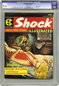 Magazines:Crime, Shock Illustrated #2 Gaines File pedigree 9/12 (EC, 1956) CGC NM+ 9.6 Off-white pages. You're looking at one of the last non...
