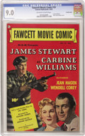 Golden Age (1938-1955):Miscellaneous, Fawcett Movie Comic #19 Carbine Williams - Crowley Copy pedigree (Fawcett, 1952) CGC VF/NM 9.0 Off-white to white pages. Jam...