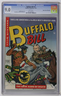 Golden Age (1938-1955):Western, Buffalo Bill #9 Mile High pedigree (Youthful Magazines, 1951) CGC VF/NM 9.0 White pages....
