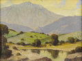 Texas:Early Texas Art - Impressionists, W. FREDERICK JARVIS (1898-1966). Untitled Mountain Ranch. Oil oncanvas. 12in. x 16in.. Signed lower left. ...