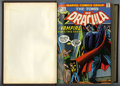 Bronze Age (1970-1979):Horror, Tomb of Dracula #17-32 Bound Volume (Marvel, 1974-75). The firstappearance and origin of Hannibal King (#25) is among the h...