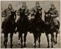 Football Collectibles:Photos, 1924 The Four Horsemen of Notre Dame Signed Photograph....