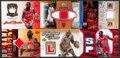 Basketball Cards:Lots, 2005 - 2007 Multi-Brand Michael Game Used Jersey Group (6) - SomeLimited Editions. ...