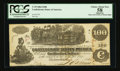 Confederate Notes:1862 Issues, John Boston Signed T39 $100 1862.. ...