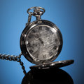 Gems:Jewelry, METEORITE POCKET WATCH. Gibeon - Iron, fine octahedrite.Great Nama Land, Namibia. ...