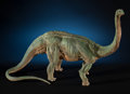 Natural History Art:Paintings, LIFELIKE ONE-OF-A-KIND DINOSAUR SCULPTURE - APATOSAURUS.Artist/Sculptor: John P. Fischner. ...