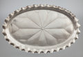 Silver Holloware, American:Trays, A SHIEBLER SILVER OVAL TRAY. George W. Shiebler & Co., NewYork, New York, circa 1885. Marks: (winged S), STERLING, 378,T...