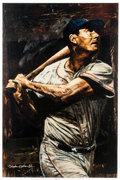 Baseball Collectibles:Others, 2005 Ted Williams Giclee by Stephen Holland....
