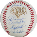 Autographs:Baseballs, 2009 New York Yankees Team Signed Baseball....
