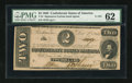 Confederate Notes:1862 Issues, T54 $2 1862 Cr. 391.. ...
