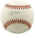 Autographs:Baseballs, Yogi Berra Single Signed Baseball. Widely regarded as one of thebeast catchers of all time, the Hall of Famer appeared in ...