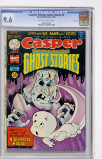 Casper Strange Ghost Stories #1 File Copy (Harvey, 1974) CGC NM+ 9.6 Off-white to white pages