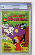 Bronze Age (1970-1979):Cartoon Character, Casper's Ghostland #84 File Copy (Harvey, 1975) CGC NM 9.4 Whitepages....