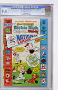 Bronze Age (1970-1979):Cartoon Character, Richie Rich, Casper and Wendy National League #1 File Copy (Harvey,1976) CGC NM 9.4 Off-white to white pages....