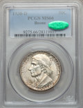 Commemorative Silver: , 1938-D 50C Boone MS66 PCGS. CAC. PCGS Population (171/57). NGCCensus: (131/31). Mintage: 2,100. Numismedia Wsl. Price for ...