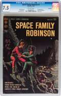Silver Age (1956-1969):Science Fiction, Space Family Robinson #1 Savannah pedigree (Gold Key, 1962) CGC VF-7.5 Off-white pages....