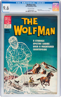 Movie Classics: Wolfman (Second Printing) File Copy (Dell, 1964) CGC NM+ 9.6 Off-white pages
