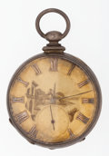 Timepieces:Pocket (pre 1900) , Joseph French Liverpool Cylinder Escapement Key Wind Pocket Watch....