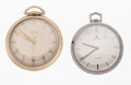 Timepieces:Pocket (post 1900), Omega & Empire 17 Jewels Pocket Watches. ... (Total: 2 Items)